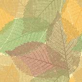 Seamless Autumn background. — Stock Vector
