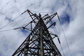 工业电力工程 — 图库照片