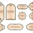 Royalty-Free Stock Vector: Set vintage labels for your design.