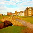 Swilcan Bridge, St Andrews - ストック写真