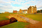 Swilcan bridge, st. andrews — Fotografia Stock