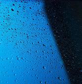многие капли воды — Стоковое фото
