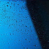 Muchas gotas de agua — Foto de Stock