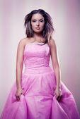 Pink dress — Stock Photo