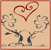 Lovecard — Cтоковый вектор