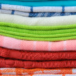 Stock Photo: Colorful kitchen towels