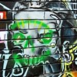 Graffiti Halloween — Stock Photo