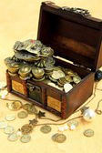 Money chest — Stock fotografie