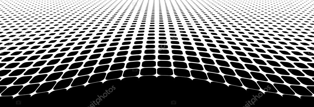 Black halftone dots (vector illustration) — Stock Vector #3843732