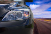 Car On The Road — Stock Photo