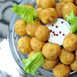 Potato balls - Stock Photo