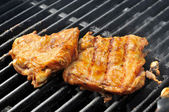 Barbeque chicken — Stock Photo