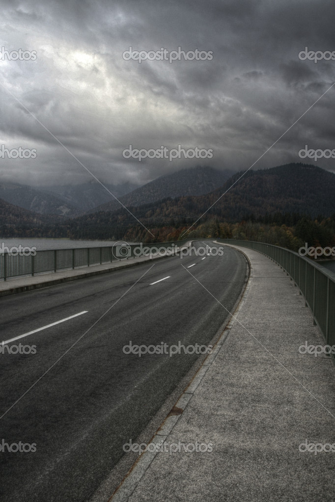 Winding road in autumn — Stock Photo #3768831