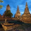Wat Chai Watthanaram Thailand - Stock Photo