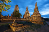 Wat Chai Watthanaram Thailand — Stock Photo