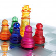 CHESS GAME-KING — Stock Photo
