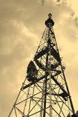 TV receiving-transmitting antenna — Stock fotografie