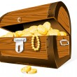 Treasure Chest — Stock Vector #3681166