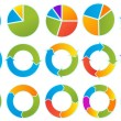 Vector de stock : Arrow circles