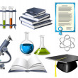Stock Vector: Science and education icons