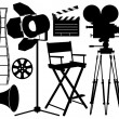Royalty-Free Stock Vector Image: Film Industry