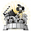 Stock Vector: Film Premiere