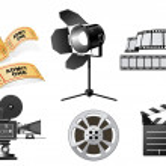 Film Industry — Stock Vector