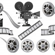 Film Industry - Stockvectorbeeld