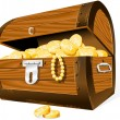 Treasure Chest - Stockvectorbeeld