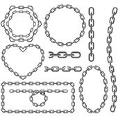 Chain frames — Stockvektor