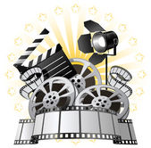 Film Premiere — Stock Vector