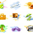 Royalty-Free Stock Vector Image: Travel and Vacation icons: Set 02