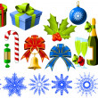 Royalty-Free Stock Vektorov obrzek: Christmas symbols