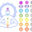 Chakras symbols - 