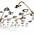 Stock Photo: Eye exam