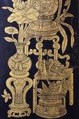 Traditionell thailändsk stil målning konst — Stockfoto