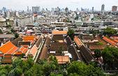Bangkok şehir manzarası — Stok fotoğraf