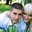 Couple outdoors — Stock Photo #3785650