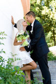 Wedding couple — Foto Stock