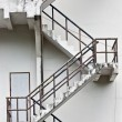 Stock Photo: Fire Escape Stair way portrait orientation
