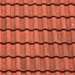 Stock Photo: Modern tiles roof
