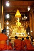 Buddhist monk — Zdjęcie stockowe