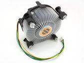 The processor fan — Stock Photo