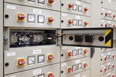 Electrical panel board — Stock Photo