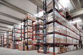 Indoor warehouse — 图库照片