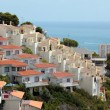 Apartments in the Mediterranean coast — Stock Photo