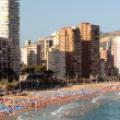 Benidorm beach — Stock Photo #3746034