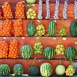 As fruits and vegetables — Stock Photo