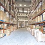 Manufacturing storage — Stock Photo