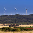 Wind power generators - Stock Photo